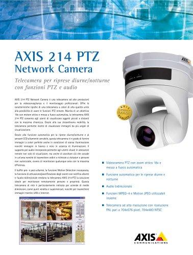 AXIS 214 PTZ Network Camera