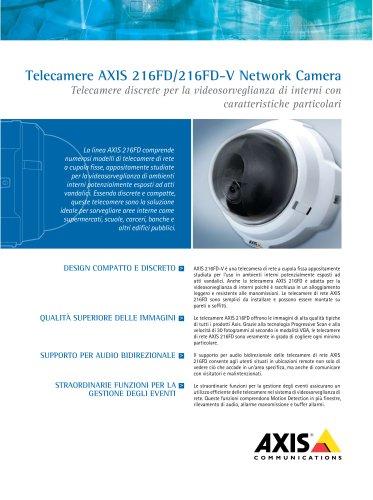 AXIS 216FD/216FD-V Network Cameras
