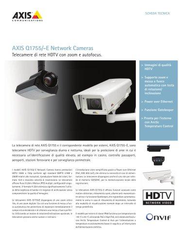 AXIS Q1755/-E Network Cameras