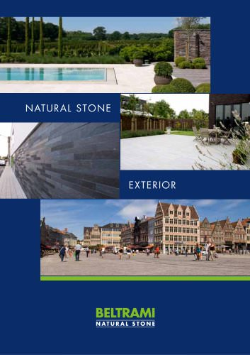 Natural stone guide for external materials