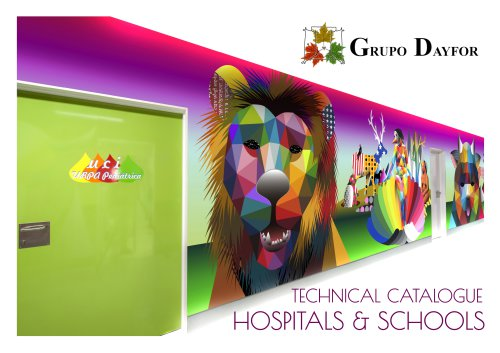 Technical catalogue hospitals and other institutions