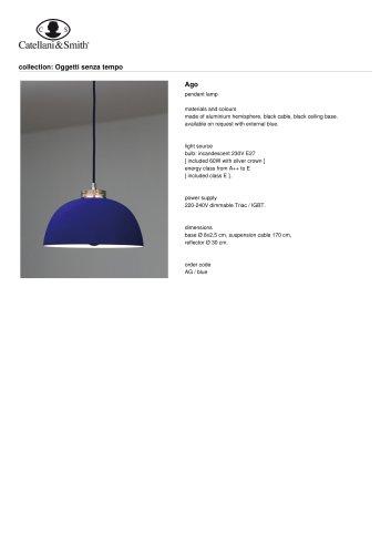 Ago - pendant lamp