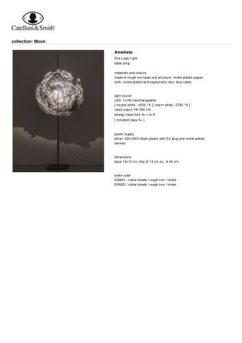 Ametista - table lamp
