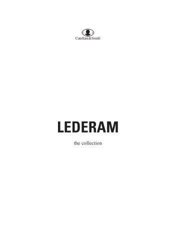 LEDERAM: THE COLLECTION