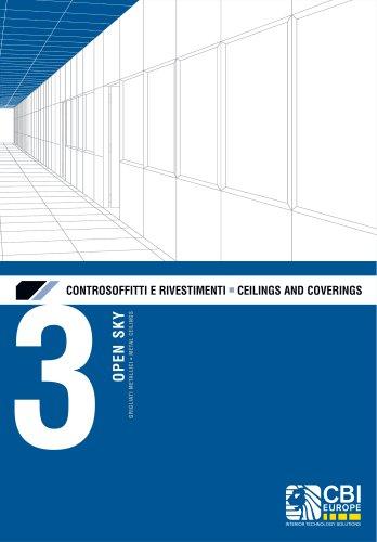 CEILINGS AND COVERINGS : METAL CEILINGS