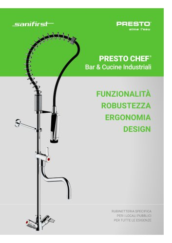 PRESTO CHEF® - Bar & Cucine industriali