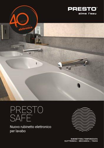 Presto SAFE® - rubinetto elettronico lavabo