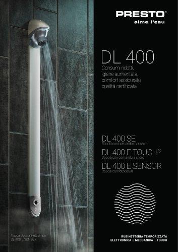 Serie DL 400 - pannello doccia