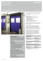 Albany HS9010P high speed door