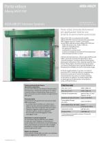 Albany HS9110P high speed door