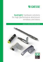 Sealright: hardware solutions for high performance aluminium windows and doors