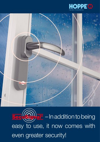SecuSignal® – In addition to being easy to use, it now comes with even greater security!