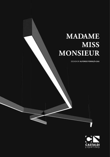 MADAME MISS MONSIEUR DESIGN BY ALFONSO FEMIA/5+1AA