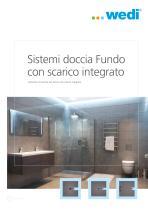 Sistemi doccia Fundo con scarico integrato