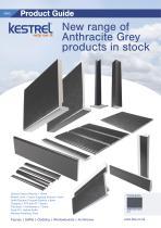 New range of Anthracite Grey