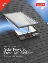 Solar Powered ?Fresh Air? Skylight