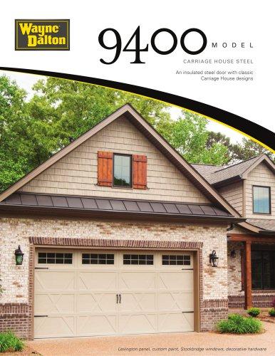 Model 9400 | Carriage House Steel Garage Door