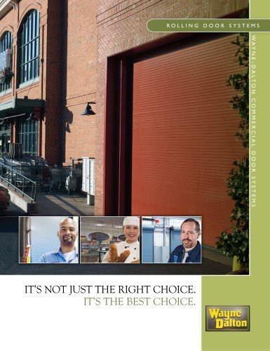 Rolling Doors brochure