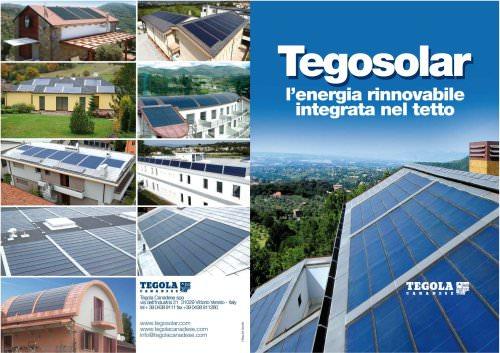 tegosolar l'energie rinnovabile integrata nel tetto
