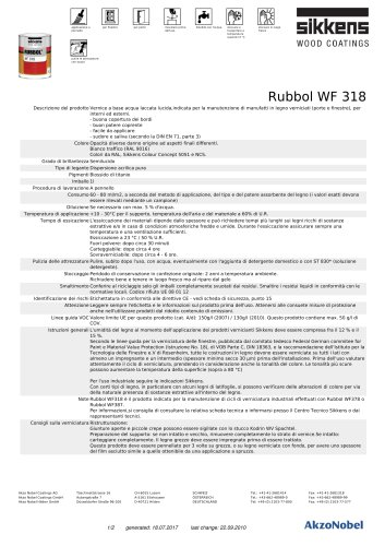RUBBOL® WF 318