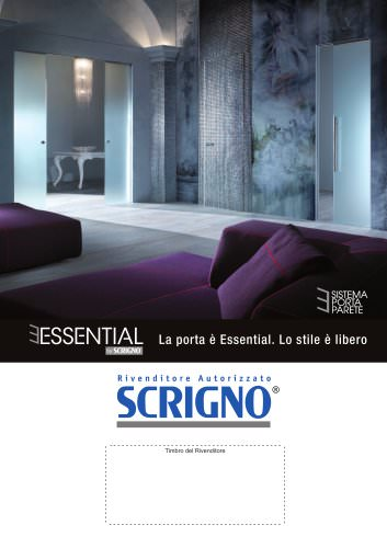 Volantino rivenditore - Essential by Scrigno