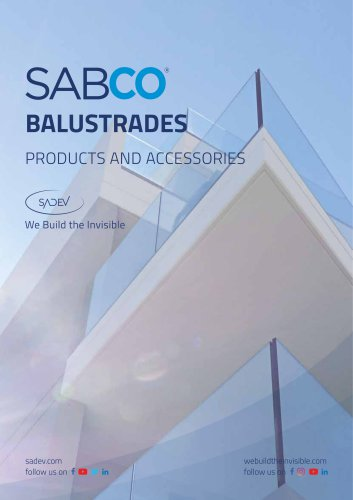 SABCO - BALUSTRADES PRODUCTS AND ACCESSORIES