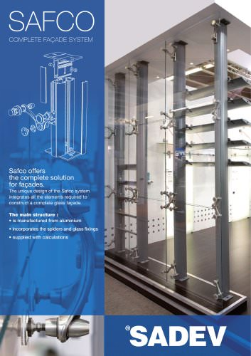 SAFCO Complete Facade system