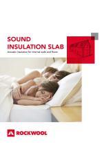 SOUND INSULATION SLAB