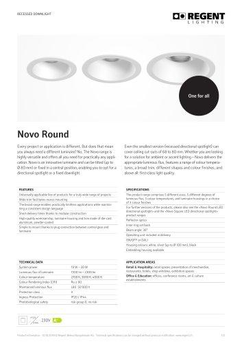 Novo Round LED
