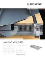 DIAMOND MESH SHEET