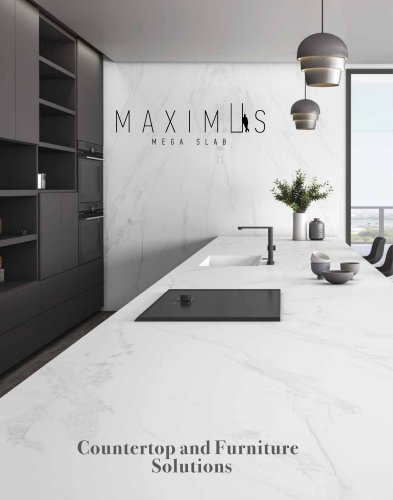 Maximus Mega Slab Countertop Solutions 2019