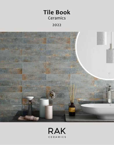 Tile Book Ceramic 2020