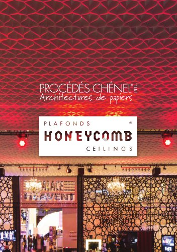Honey comb ceilings