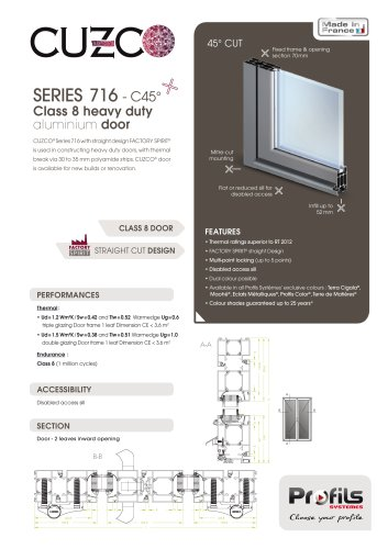 Cuzco® heavy duty door