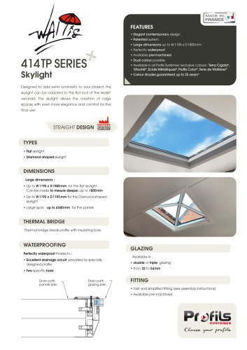 Wallis® skylight