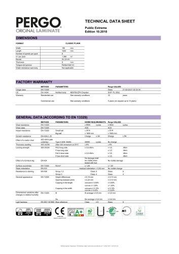 Technical Data Sheet Public Extreme
