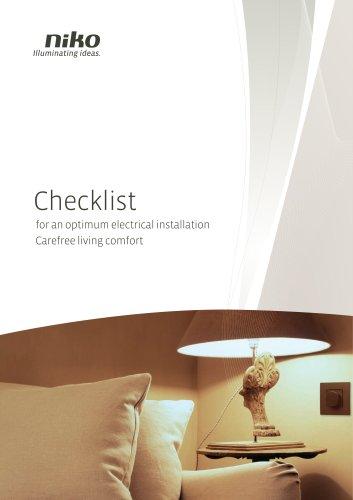 Niko Checklist brochure