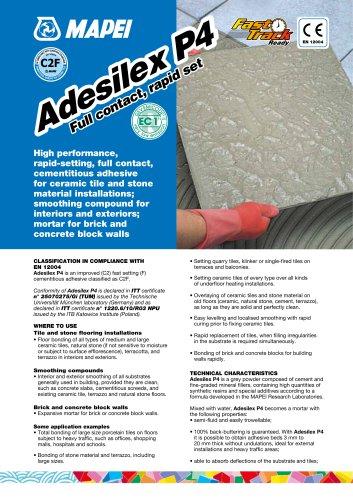 ADESILEX P4