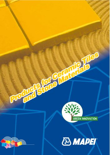 PProducts for Ceramic Tiles roducts for Ceramic Tiles aand Stone M