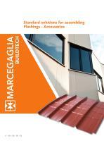 standard solutions for assembling Flashings - Accessoiries