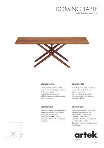 DOMINO TABLE