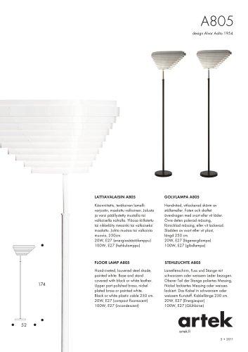 FLOOR LAMP A805