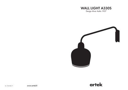 WALL LIGHT A330S