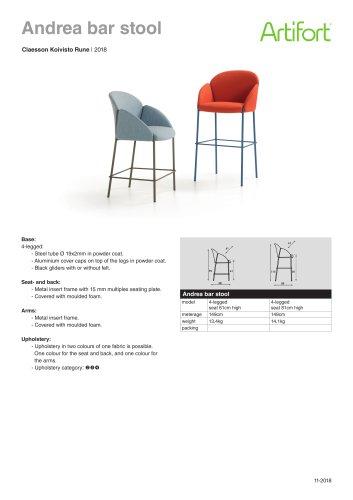 Andrea bar stool