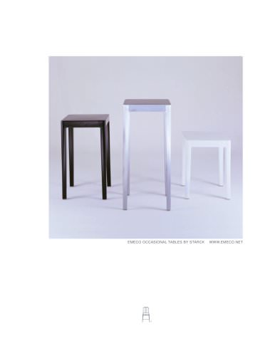 """EMECO 18"""" Occasional table"""