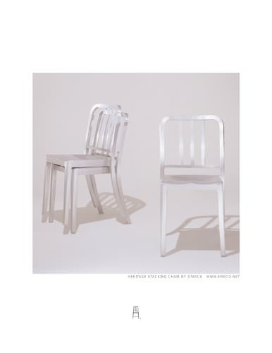 Heritage stacking armchair