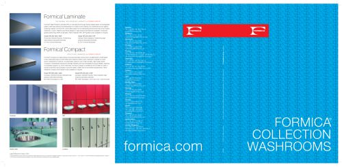 Formica® Collection Washrooms