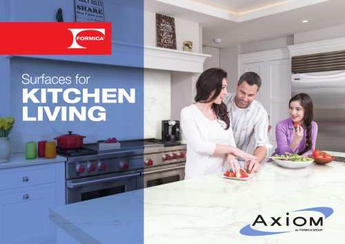 Surfaces for KITCHEN LIVING