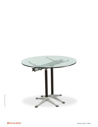 Burdick Group Tables Product Sheet