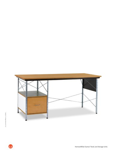 Eames Desk and Storage Units product sheet